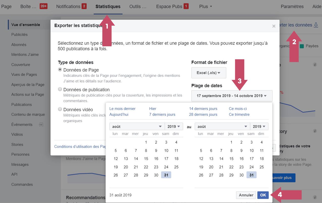 Mesurez la portée précise de votre page avec audience insights facebook