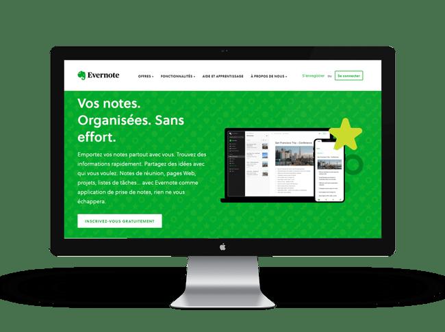 Evernote est une application d'organisation de travail qui vous aide à y voir plus clair