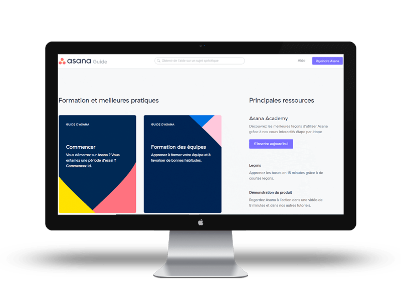 asana est une application d'organisation de travail