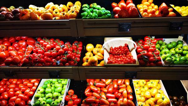 profusion d'offres de tomates au sein des rayons