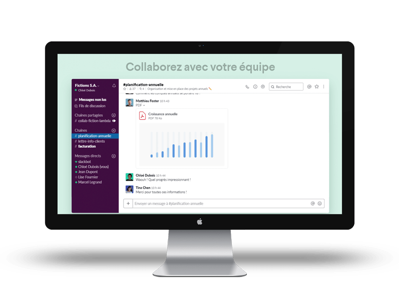 Slack est l'une des application d'organisation de travail les plus efficace