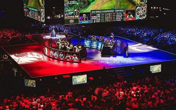 les grands show e-sport sont également diffusés sur la plateforme twitch