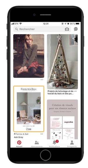 Faites de la veille et découvrez les dernières tendances avec Pinterest pour les entreprises