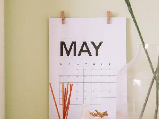 Découvrez votre calendrier marronnier mai 2020, préparé par votre agence digitale, Jadéclo !