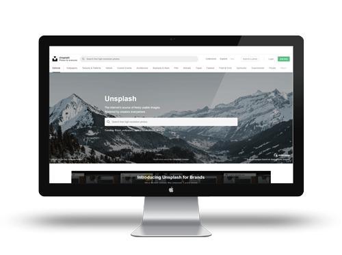 Retrouvez de nombreux visuels sur Unsplash, votre banque d'image gratuite libre de droit !