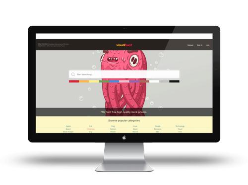 Utilisez Visualhunt pour vos créations, la banque d'image gratuite libre de droit !