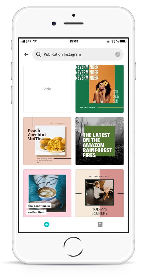 Canva mobile : créez des visuels attrayants