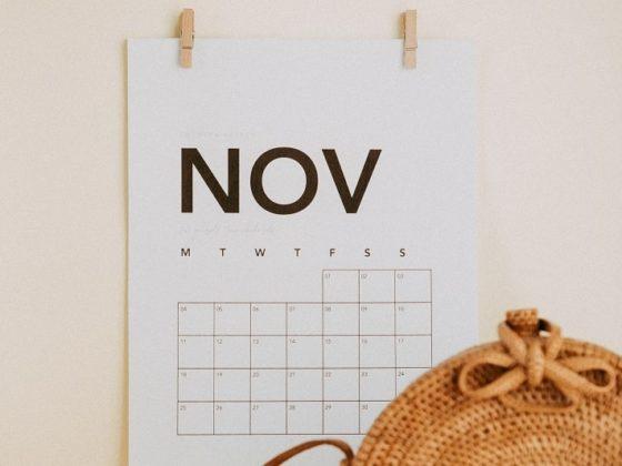 Retrouvez les événements incontournables du juin grâce à votre calendrier marronnier novembre 2021 !