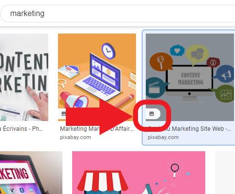 Google images vous permet de repérer les iamges possédant une licence creative commons