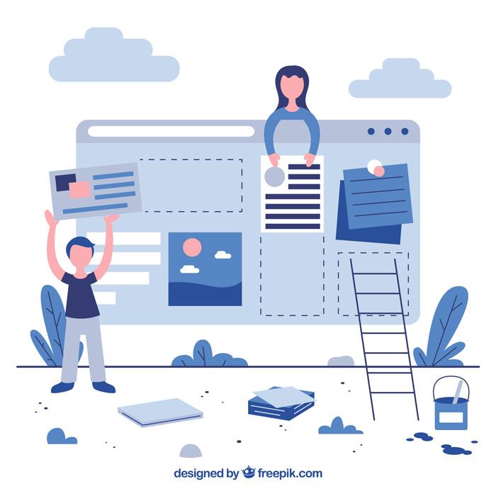 Façonner votre identité digitale sur votre site web