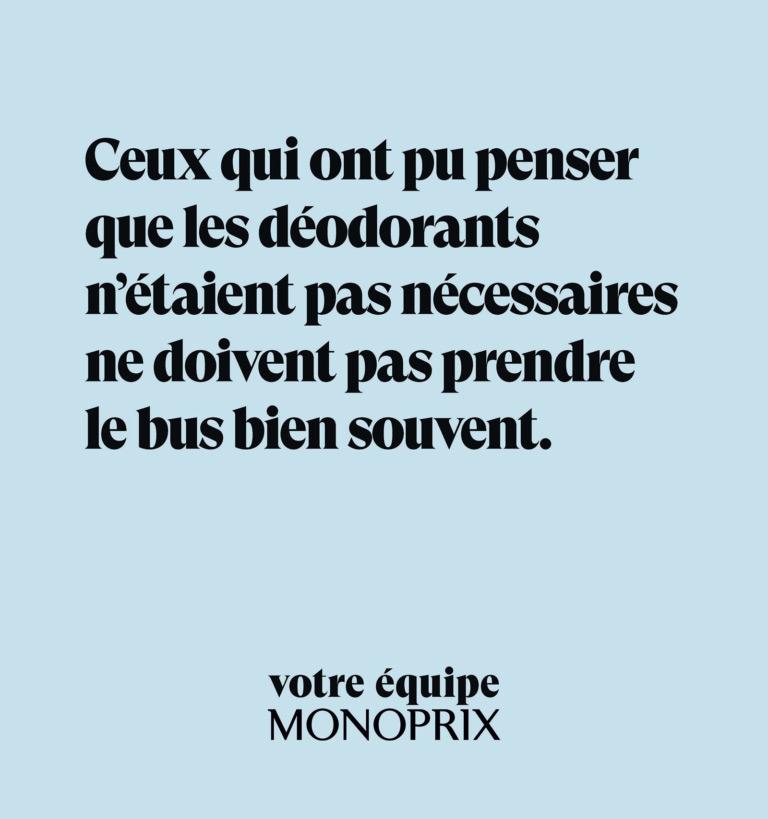 Monoprix, campagne essentielle
